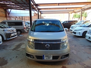 2003 NISSAN ELGRAND 3.5 V6 XL SUNROOF Leather Seatr