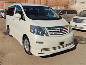 2005 TOYOTA ALPHARD Automatic 8 Seater MPV Both Electric Doors 27 k milage