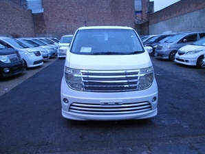 NISSAN ELGRAND RIDER 3.5 V6 Automatic 8 Leather Seats Alphard Estima