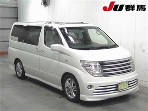 NISSAN ELGRAND RIDER 3.5 V6 Automatic 8 Leather Seats Sunroof Alphard