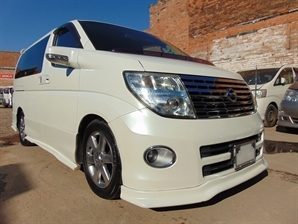 2005 55 PLATE FACE LIFT NISSAN ELGRAND HIGHWAY STAR 3.5 V6 AUTO GRADE 4