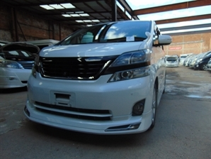 2009 TOYOTA VELLFIRE ALPHARD BUSINESS EDITION FRESH FACELIFT Cruise SUNROOF