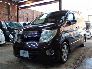 NISSAN ELGRAND Highway Star 3.5 V6 Automatic Red LEATHER SERIES 3