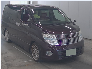 NISSAN ELGRAND Highway Star 3.5 V6 Automatic Red LEATHER