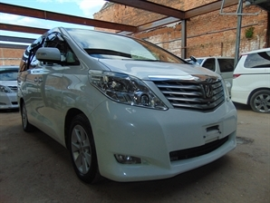 2008 TOYOTA ALPHARD BUSINESS EDITION FRESH FACELIFT MODEL Cruise SUNROOF 4WD